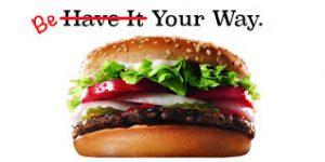 burger king brand promise business tagline practices vancouver brand designer