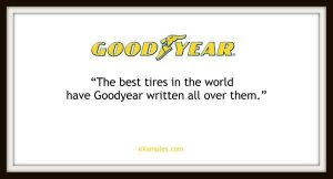 goodyear brand promise business tagline practices vancouver brand designer