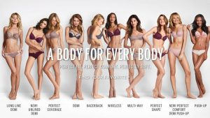 victoria secret tagline a body for every body - blog about creating taglines and brand message by Canada branding expert